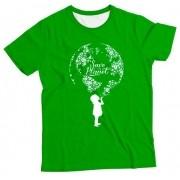 Camiseta Adulto Save the Planet MC