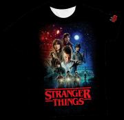 Camiseta Adulto Stranger Things MC
