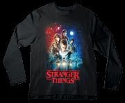 Camiseta Adulto Stranger Things  ML
