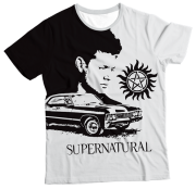 Camiseta Adulto Supernatural MC