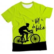 Camiseta Adulto Vá de Bike MC