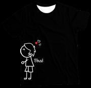 Camiseta Adulto Amo Você PR MC