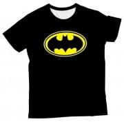 Camiseta Infantil Batman Simbolo MC