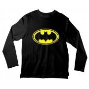 Camiseta Infantil Batman Símbolo ML