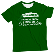 Camiseta Adulto Ecológico MC