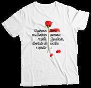 Camiseta Adulto Flores BR MC