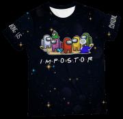Camiseta Infantil Amoung Us MC