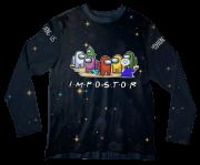 Camiseta Infantil Amoung Us ML