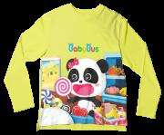 Camiseta Infantil Baby Bus Amarelo ML
