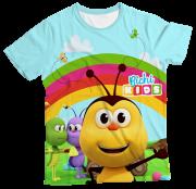 Camiseta Infantil Bichikids MC