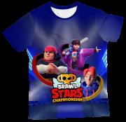 Camiseta Infantil Brawl Stars 1 MC
