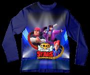 Camiseta Infantil Brawl Stars 1 ML