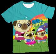 Camiseta Infantil Chip e Potato MC