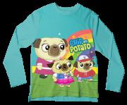 Camiseta Infantil Chip e Potato ML