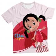 Camiseta Infantil Cleo e Cuquin Colitas MC