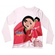 Camiseta Infantil Cleo e Cuquin Colitas ML
