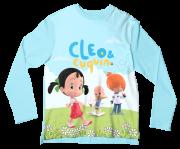 Camiseta Infantil Cleo e Cuquin ML