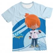 Camiseta Infantil Cleo e Cuquin Pelusín MC
