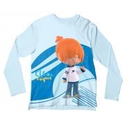 Camiseta Infantil Cleo e Cuquin Pelusín ML