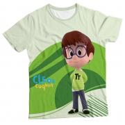 Camiseta Infantil Cleo e Cuquin Tete MC