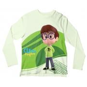 Camiseta Infantil Cleo e Cuquin Tete ML