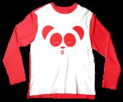 Camiseta Infantil Cleo e Cuquin Vermelho ML