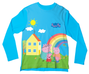 Camiseta Infantil Familia Peppa Pig ML