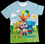 Camiseta Infantil Festa das Palavras MC