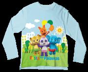Camiseta Infantil Festa das Palavras ML