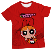 Camiseta Infantil Florzinha MC