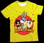 Camiseta Infantil Looney Tunes MC