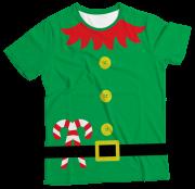 Camiseta Infantil Natal Duende MC