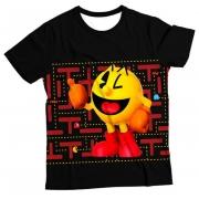 Camiseta Infantil Pacman MC