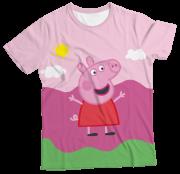 Camiseta Infantil Peppa Pig MC