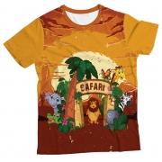 Camiseta Infantil Safari MC