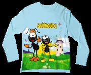 Camiseta Infantil Smilinguido ML