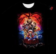 Camiseta Infantil Stranger Things Animado MC