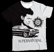 Camiseta Infantil Supernatural MC