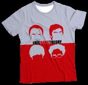 Camiseta Infantil The Big Bang Theory MC