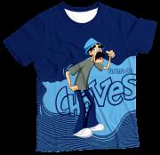 Camiseta Infantil Turma do Chaves Seu Madruga MC