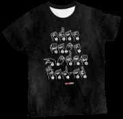 Camiseta Adultos Libras MC