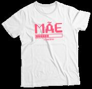 Camiseta Adulto Mãe Loading Branca MC