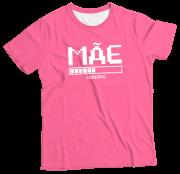 Camiseta Adulto Mãe Loading Rosa MC