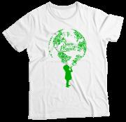 Camiseta Infantil Save the Planet BR MC