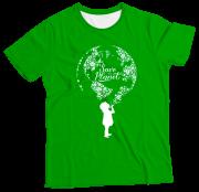 Camiseta Infantil Save the Planet MC