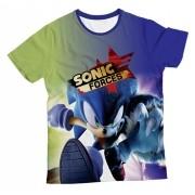 Camiseta Infantil Sonic Forces MC
