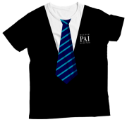 Camiseta Adulto Super Pai Favorito Azul MC