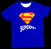 Camiseta Adulto Super Pai MC