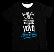 Camiseta Adulto Vovô PR MC