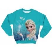 Moletom Infantil Frozen Elsa